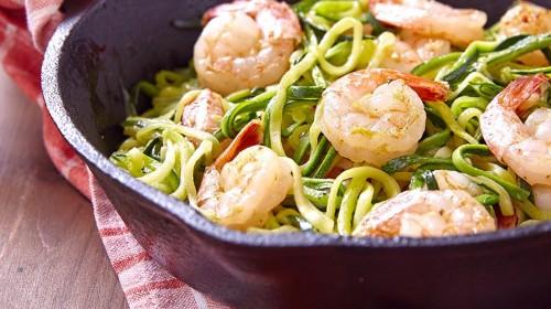 Zum Rezept Zoodles - Nudeln à la Zucchini