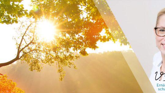 Fit und aktiv durch den Herbst