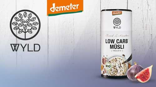 WYLD Cerealien jetzt auch in Demeter Qualität